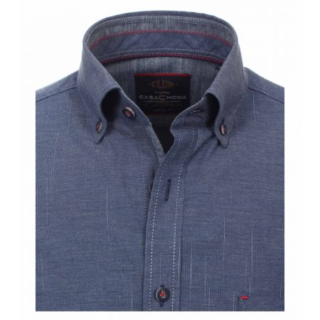 Casa Moda Blue Long Sleeve Shirt
