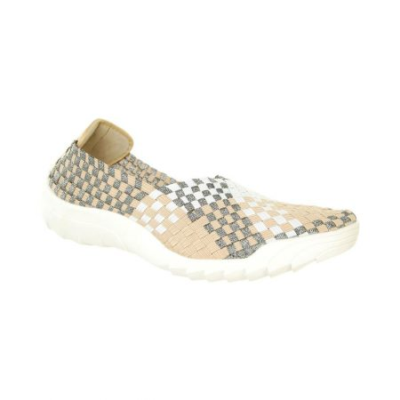 Adesso Caitlin Beige Mix Comfort Shoes