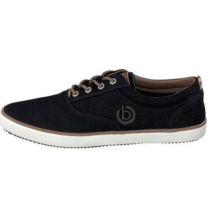Bugatti navy canvas shoes