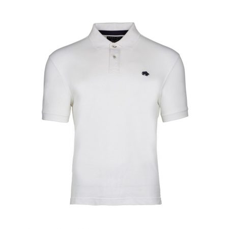 Raging Bull White Signature Polo shirt