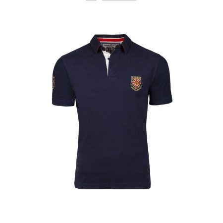 Raging Bull Navy Rugby Top