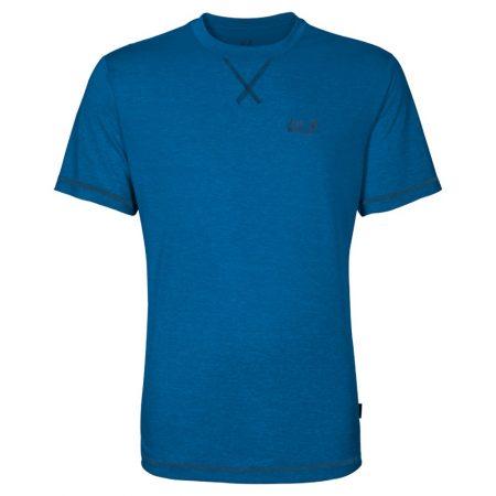 Jack Wolfskin Crosstrail T Shirt Electric Blue