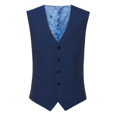Remus Uomo Blue Palucci Mix and Match Suit Waistcoat