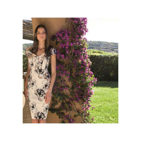 Michaela Louisa Blush Pink Floral Dress