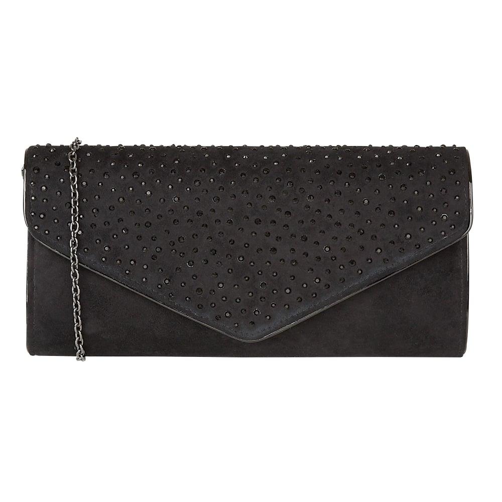c265245b28 Lotus Cartmel Black Diamante Evening Bag - Brooks Shops
