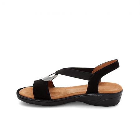 Jenny Ara Korsika Black Comfort Sandals