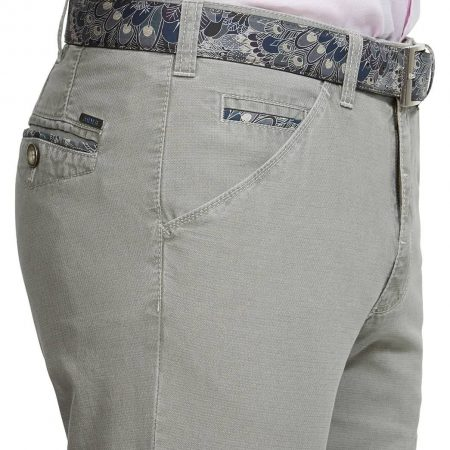 Meyer Cotton Stretch Chicago Stone Trouser