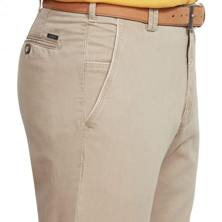 Meyer Cotton Stretch New York Stone Trouser