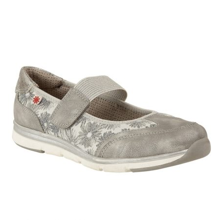 Lotus Relife Natos Silver Comfort Shoes