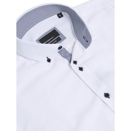 Remus Uomo White Long Sleeve Casual Shirt