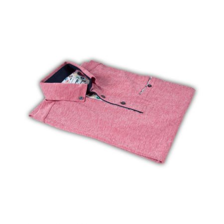 Giordano Tapered Fit Pink Polo Shirt