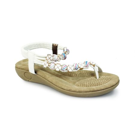 Lunar Essence White Toe Post Sandals
