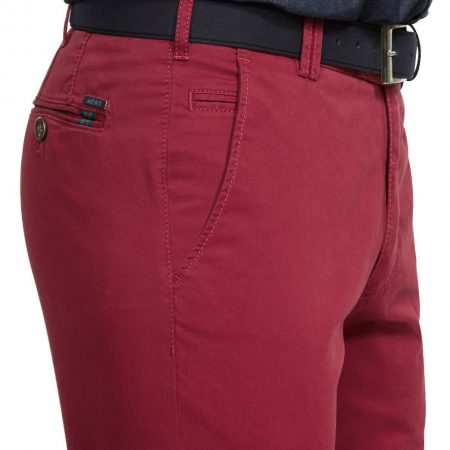 Meyer red cotton trousers - Roma