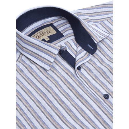 Drifter Striped Short Sleeve Shirt