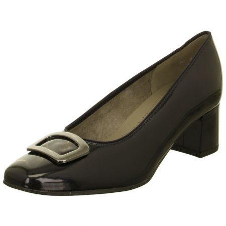 Jenny Ara Mayenne Navy Patent Dress Shoes