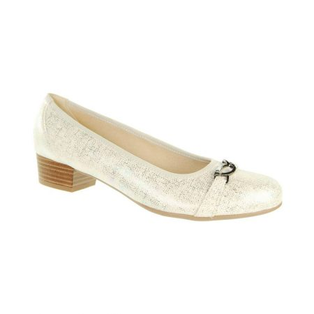 Alpina Nerine Champagne Shimmer Shoes