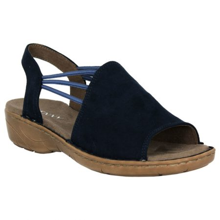 Jenny Ara Korsika Navy Comfort Sandals