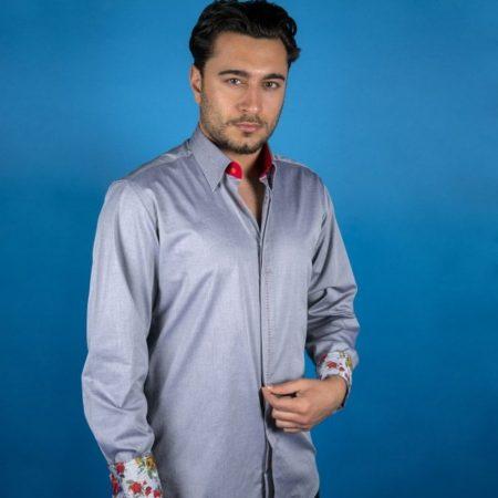 Claudio Lugli Grey Shirt