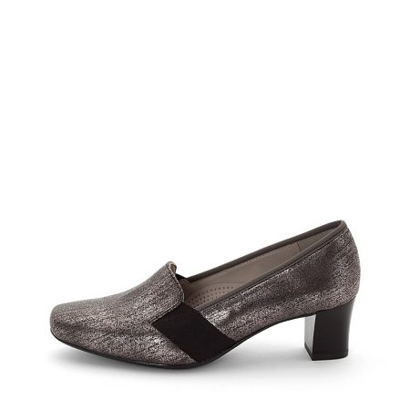 Ara Verona Metallic Pewter Dress Shoes