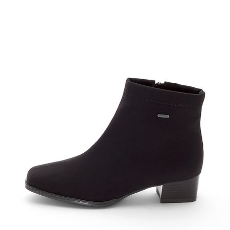 Ara Graz Black Waterproof Ankle Boots