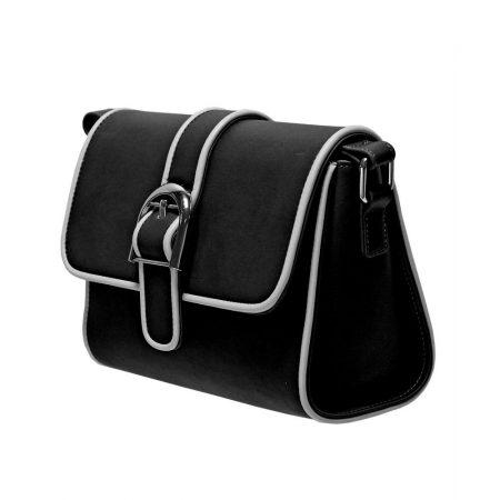 Envy Black Small Satchel Shoulder Bag