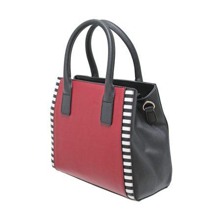 Envy Red Black Medium Handbag