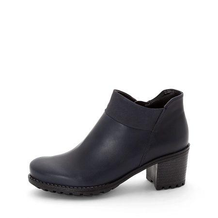 Jenny Ara Madison Navy Ankle Boots