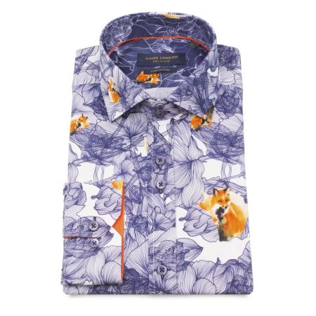 Guide London long sleeve fox shirt
