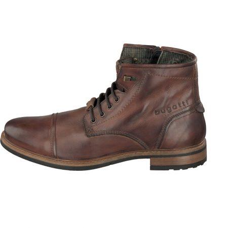 Bugatti Chesnut Brown Leather Boots