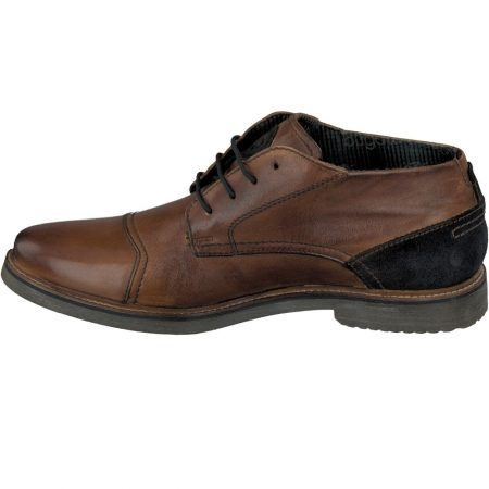 Bugatti Tan Leather Lace Up Shoe