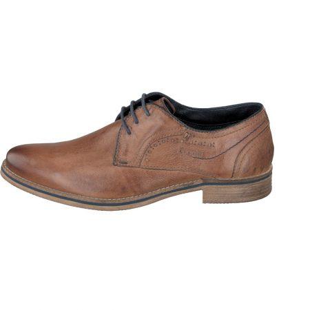 Bugatti Brown Leather Lace Up Shoe