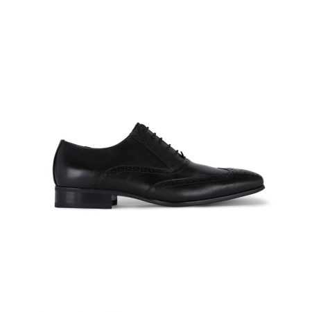 Remus Uomo black lace up shoes