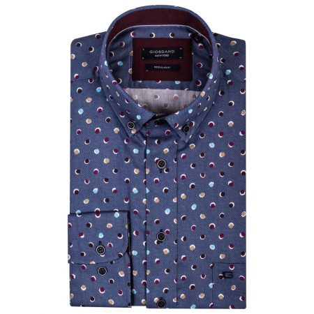 Giordano blue shirt 827024-30