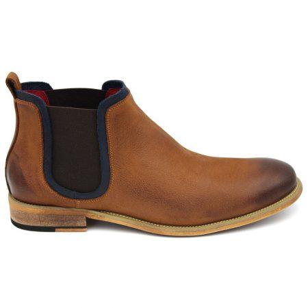 Sergio Duletti Brown Slip On Boot