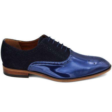 Lacuzzo navy shoe