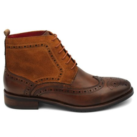 Sergio Duletti lace up brown boots