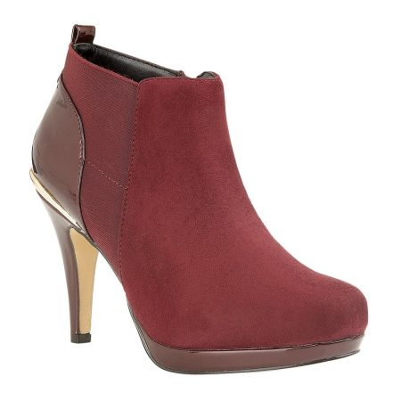 Lotus Aggy Berry Heeled Shoe Boots