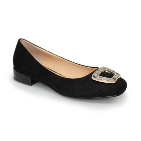 Lunar Nakita Black Gem Flat Shoes