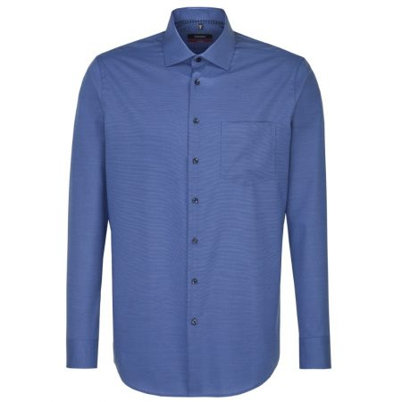Seidensticker Blue long sleeve shirt