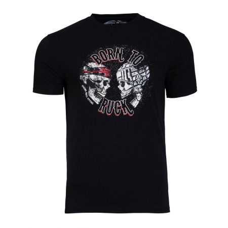 Raging Bull T Shirt - Born To Ruck
