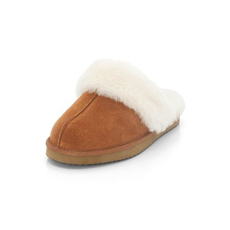 Ara Eva Natural Lambskin Mule Slippers