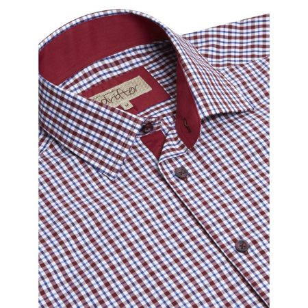 Drifter Red Check Shirt