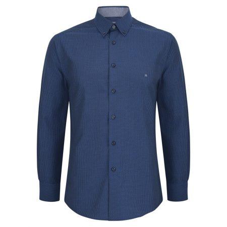 Drifter Teal Patterned shirt