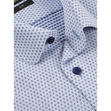 Remus Uomo slim fit blue shirt