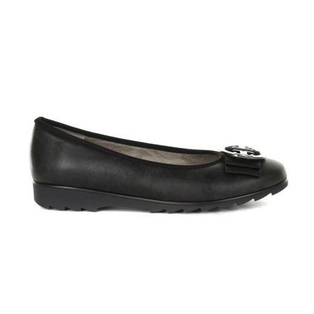 Jenny Ara Pisa Sport Black Flat Shoes