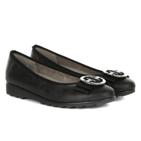 Jenny Ara Pisa Sport Black Flat Shoes