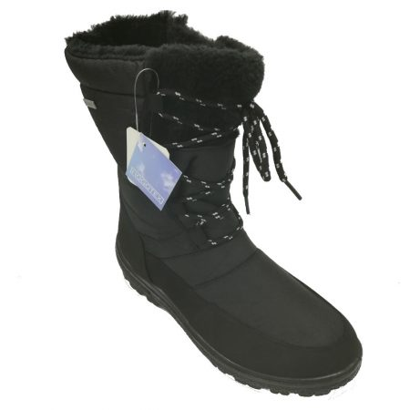 Antonio Dolfi Black Waterproof Snow Boots