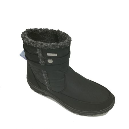 Antonio Dolfi Black Waterproof Ankle Boots