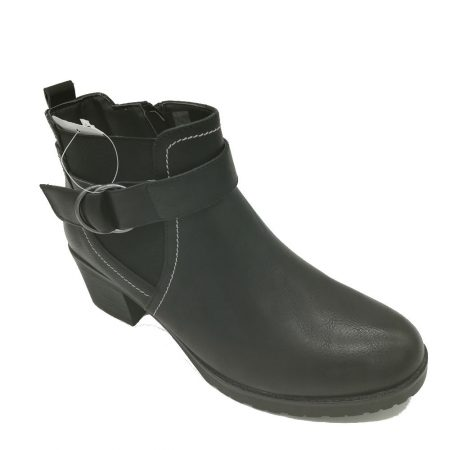 Antonio Dolfi Black Heeled Ankle Boots
