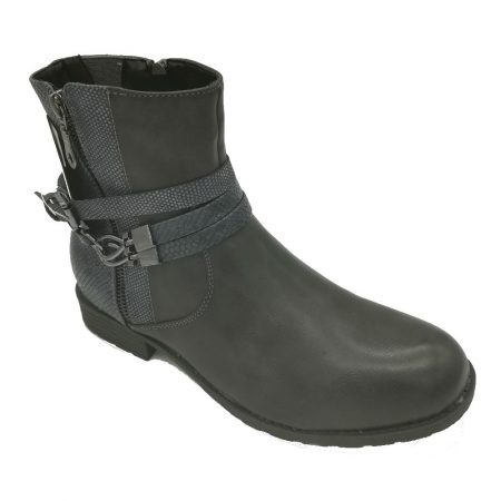 Antonio Dolfi Dark Grey Ankle Boots
